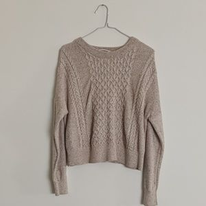 Tan Mossimo Pullover sweater